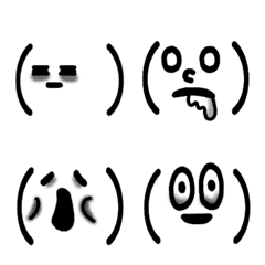 Face mark of a tired person – LINE Emoji | LINE STORE