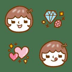 Bob Hair Girls Emoji 1
