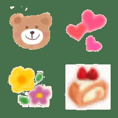 อิโมจิไลน์ yuru kawaii Emoji