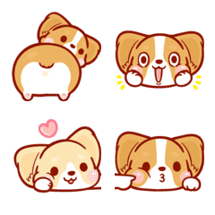 Corgi Dog Kaka Emoji 2