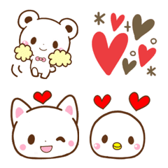 อิโมจิไลน์ You can connect and use! Animals3