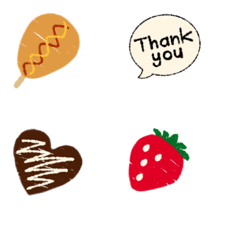 Small embroidery Emoji