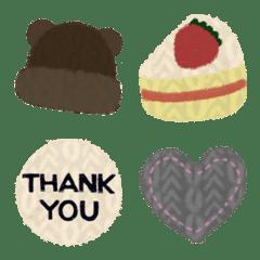 Kawaii knit Emoji