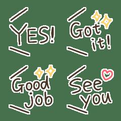 international!!all english emoji