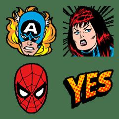อิโมจิไลน์ Marvel Comics อิโมจิ