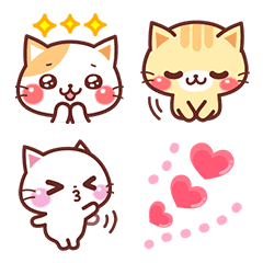 A lot of cats อิโมจิ 2