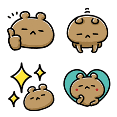 NAGASHISUGI KUMA-Basic Emoji-