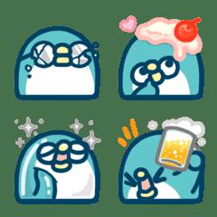 PP mini小小企鵝 表情貼4