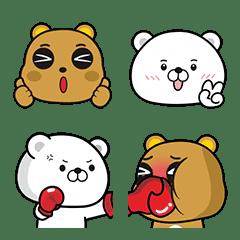 傲嬌熊&直白熊 表情貼