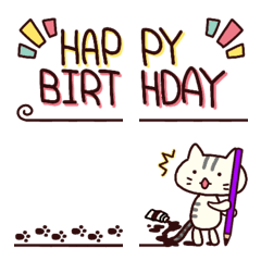 Greeting Cat(Emoji)No.2
