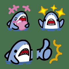 Small shark cute Emoji