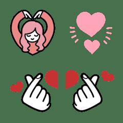 อีโมจิ Love love love emoji