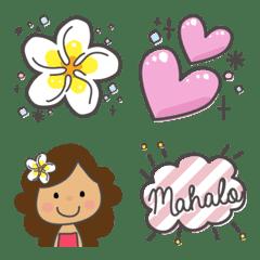 อีโมจิ hula&hawaii's cute emoji!