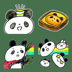 อีโมจิ Cute pandas