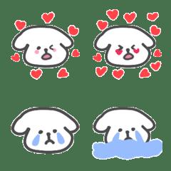 a cute little puppy – LINE Emoji | LINE STORE
