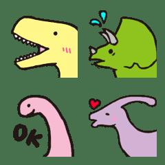 อีโมจิ Slow living dinosaur Emoji part1