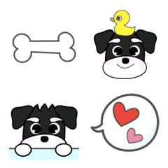 อีโมจิ *** POOHCO's Schnauzer Emoji ***