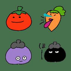อีโมจิ Vegetables weather