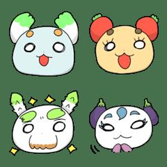 อีโมจิ Yasainu Factory Emoji