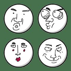 表情豐富組合貼-1