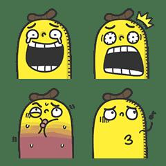อิโมจิไลน์ Mr. Banana's Strange Emoji