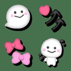 อิโมจิไลน์ 3d Emoji mix(1)