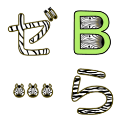 emoji of zebra