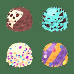 Ice Cream Emoji Line Emoji Line Store