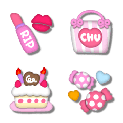 อิโมจิไลน์ 3D Emoji mix(3)