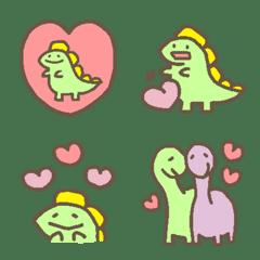 อิโมจิไลน์ Dinosaur Emoji 2