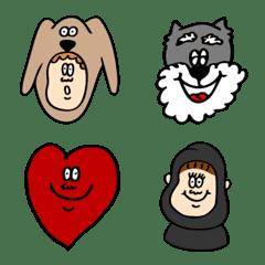 a poppy emoji sometimes gorilla