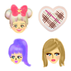 Enjoy various hair styles!