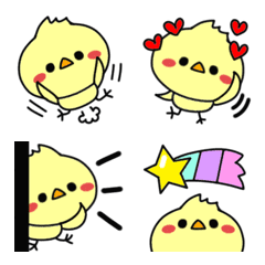 "Emoji of a small chick ""TO-RI-RI"""