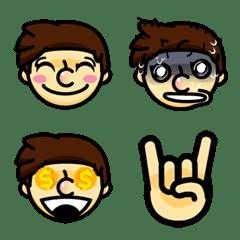 Hello Boy Emoji V.2