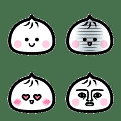 Emoji of steamed meat bun