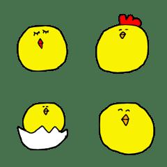 Chick emoji.