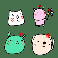 rakugaki emoji zoo