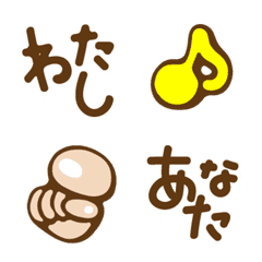Bubble character Emoji