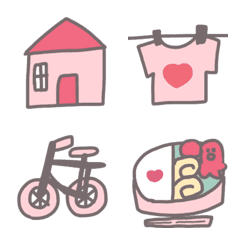 Emoji that Mommy can use.pink and brown