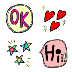 simple and easy to use and cute Emoji