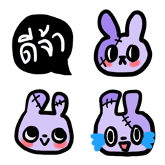 Purplish zombie rabbits [TH]