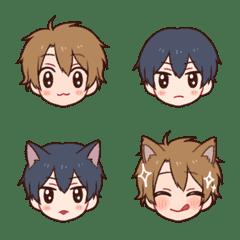 Dog boy & Cat boy