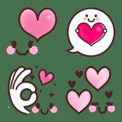 อิโมจิไลน์ ชุดอิโมติคอนหัวใจน่ารัก♡
