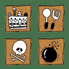 panda and emoji
