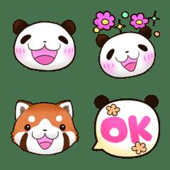 friendly happy panda