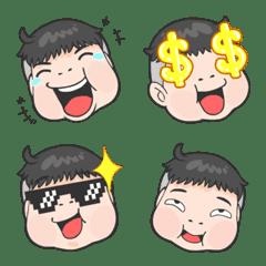 chubby boy Emoji so cute Vol.2