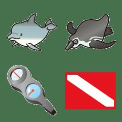 Big fish emoji