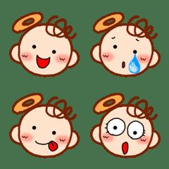 อิโมจิไลน์ Sweet Angels Emoji 2