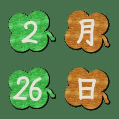 BOARD3 Emoji Four leaves clover