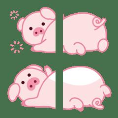 Emoji : Lovely pig